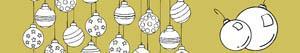 Omalovánky Vánoční cetky