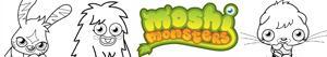 Omalovánky Moshi Monsters