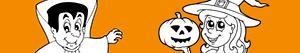 Omalovánky Halloween party