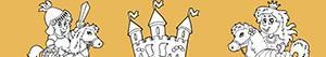 Omalovánky Dobrodružství ve středověku
