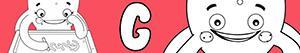 Omalovánky Jména pro Dívky na písmeno G