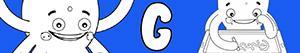 Omalovánky Jména pro Chlapce na písmeno G