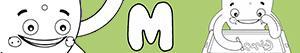 Omalovánky Jména pro Chlapce na písmeno M