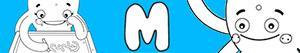 Omalovánky Jména pro Dívky na písmeno M