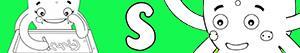 Omalovánky Jména pro Dívky na písmeno S